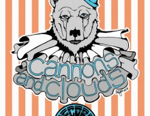 Cannons and Clouds Bear Poster